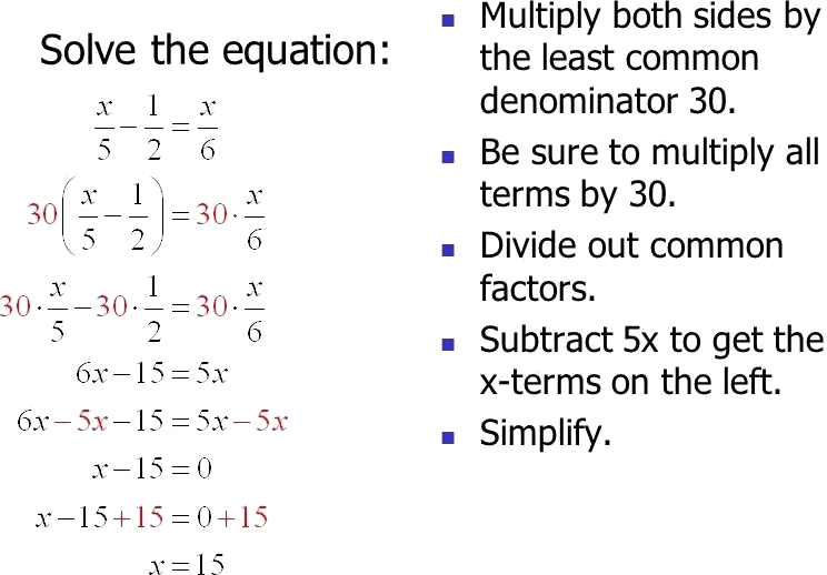 Given this figure Solve the linear equaction in sum