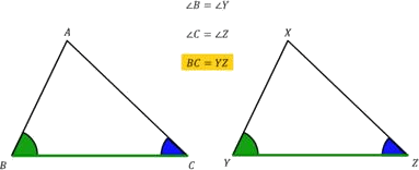 Give Side-Angle-Side congruent rule ,so ∠B=∠Y and ∠C=∠Z.so,BC=YZ
