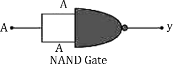 Q 16 1 Circuit of The NAND Gate