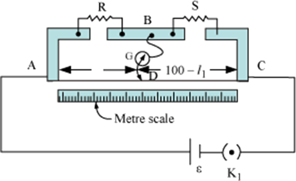 Meter bridge circuit