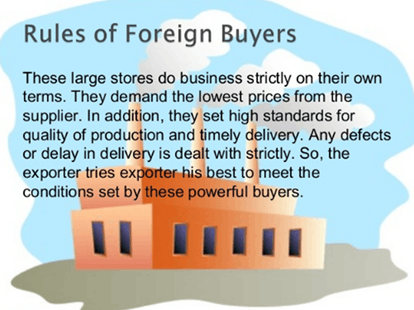 Rules of foreign buyers
