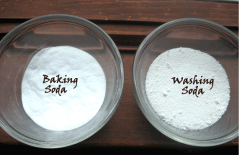 Result for washing soda and baking soda