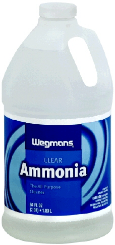 As showing in images is a Ammonia