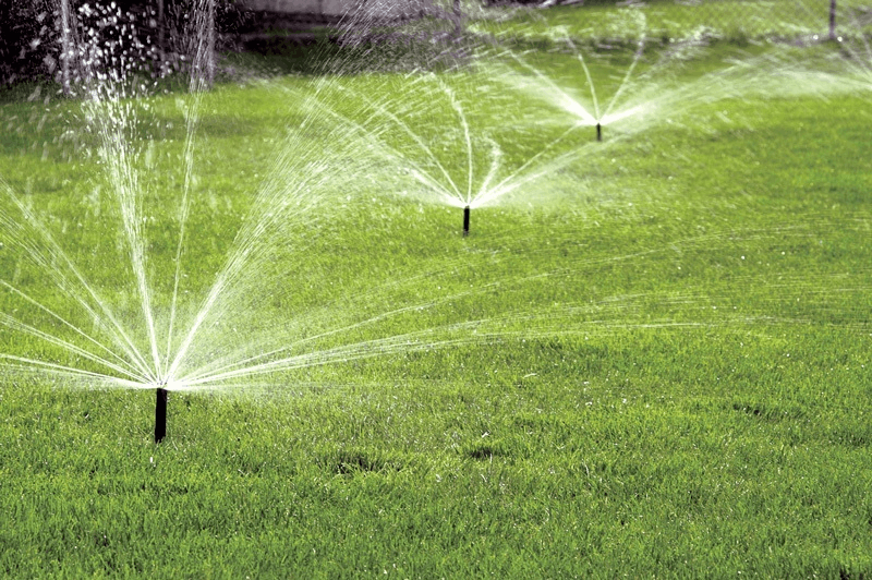 As showing in images is a result for Sprinkler System