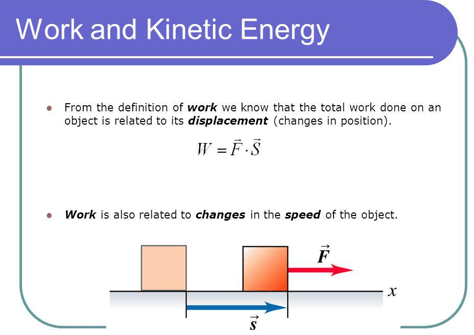 Q 2 Image Showing Work And Kinetic Energy.