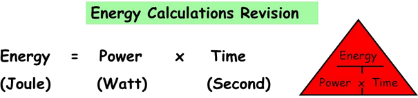 Q 9 Image Showing Energy Calculations Revision.