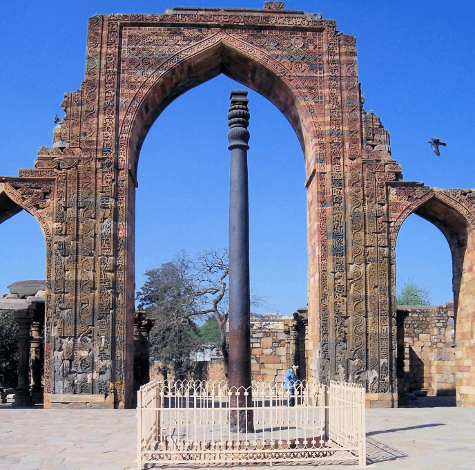 Iron pillar of Chandra Gupta