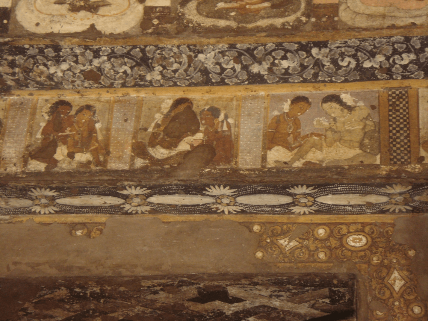 Paintings of Ajanata caves