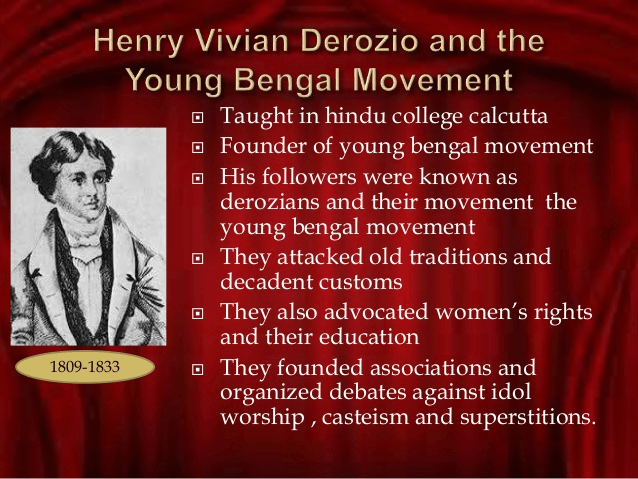 Image of Young Bengal Movement