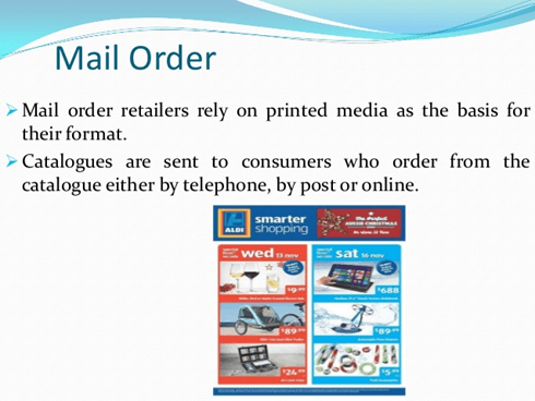 Image result for Mail Order Retailing