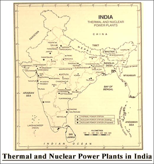 Thermal and Nuclear Plants In India