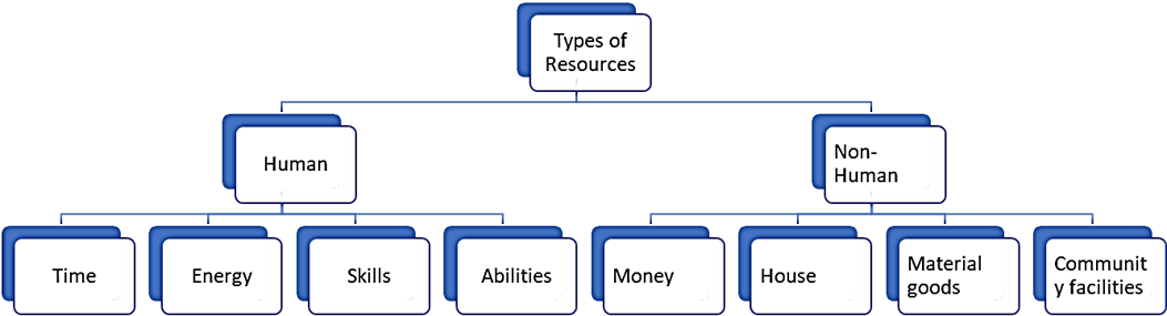 Image of Types of resources