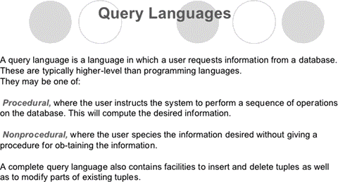 understanding structured query language This lesson provides the reader with a simplified definition, history, and synopsis of structured query language as it applies to today's data processing needs.